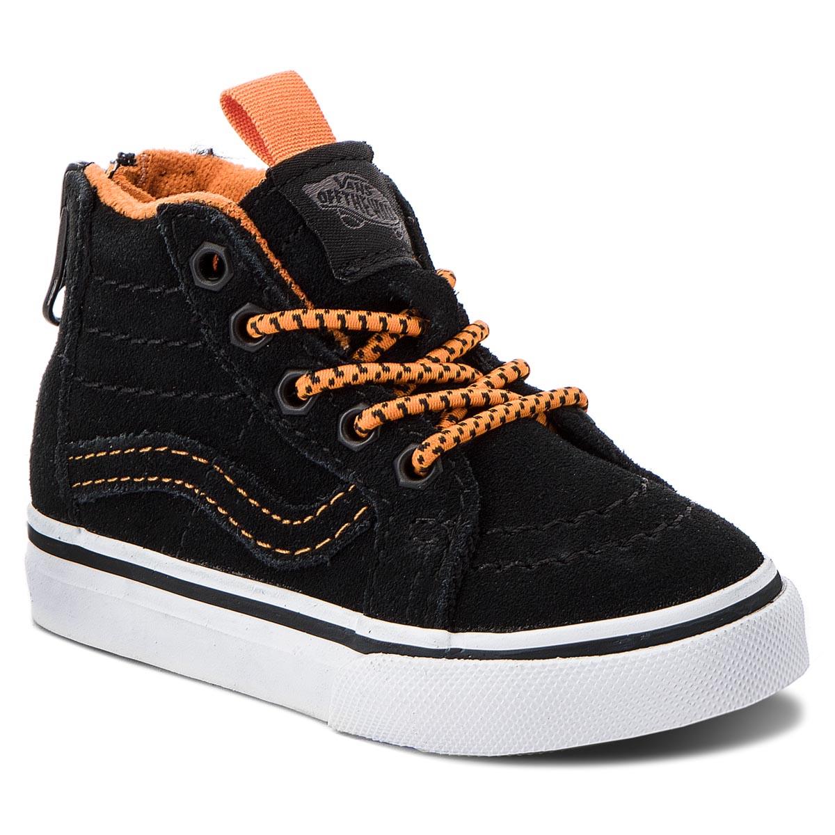 Sportcipő VANS Sk8 Hi Zip VN0A32R3U4G1 (Mte) OrangeBlack