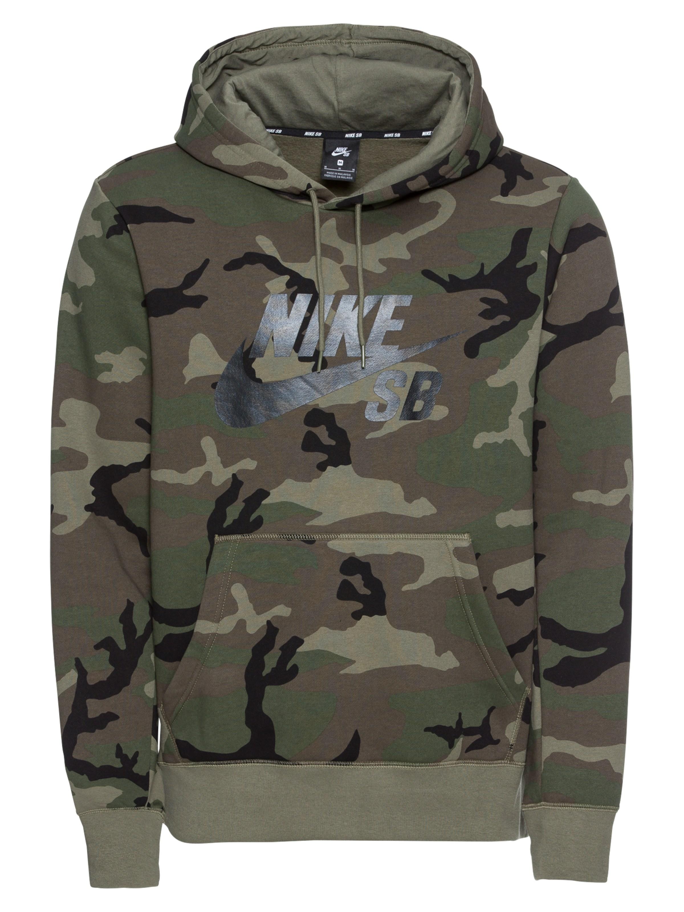 Nike NSW CLUB CAMO HOODIE Férfi kapucnis pulóver (49 db