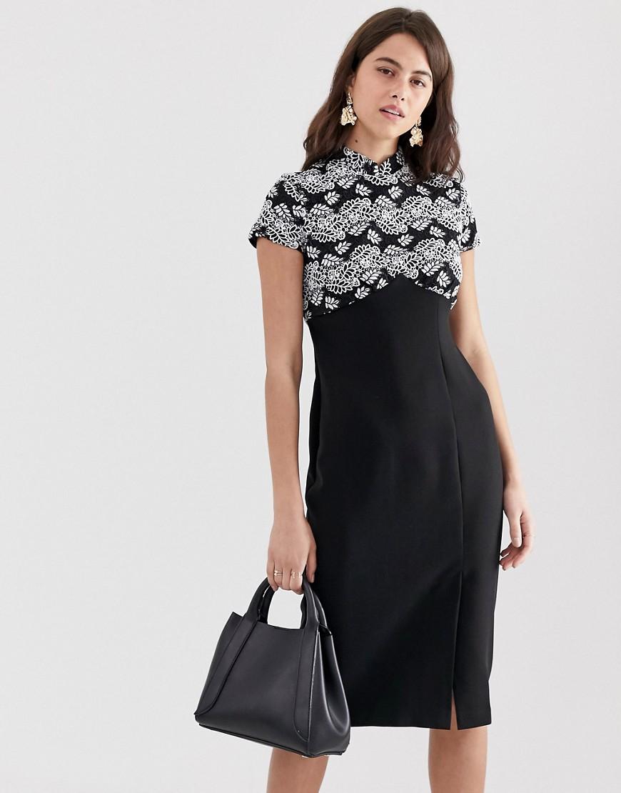 Adidas női SHOULDER DRESS BLACK szoknya, ruha