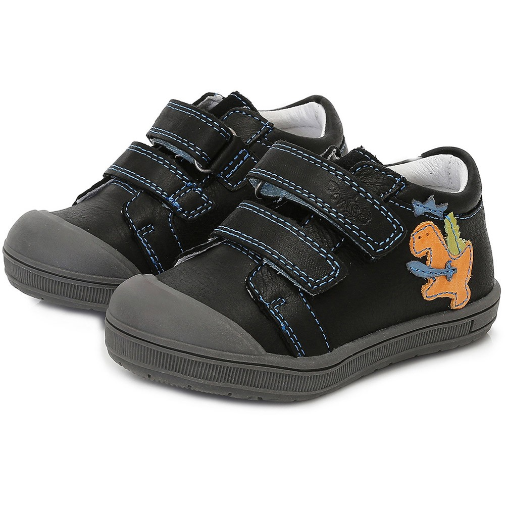 Ponte20 Supinált dínós fekete cipő