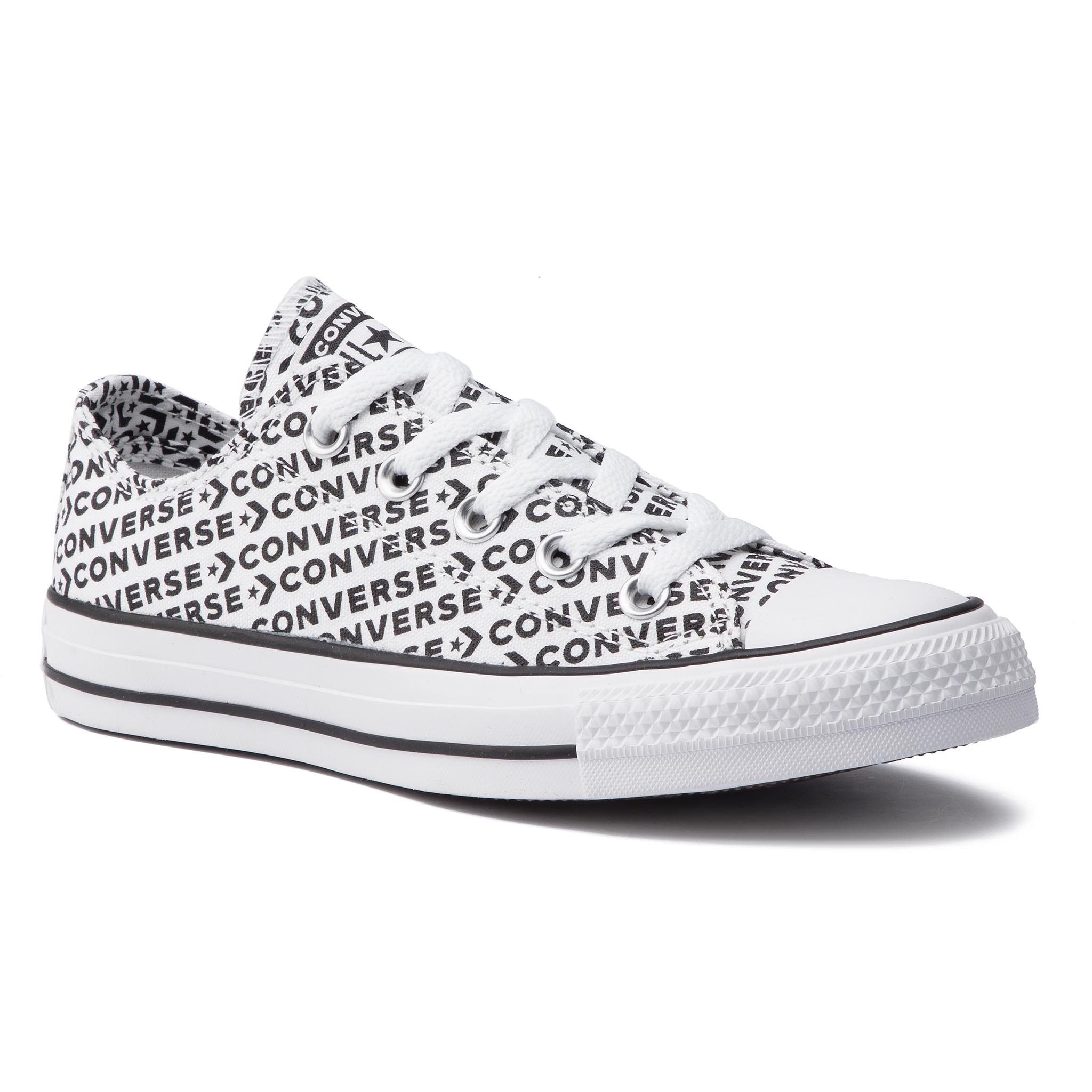re7bb6309 tornacipő converse ctas ox black white white