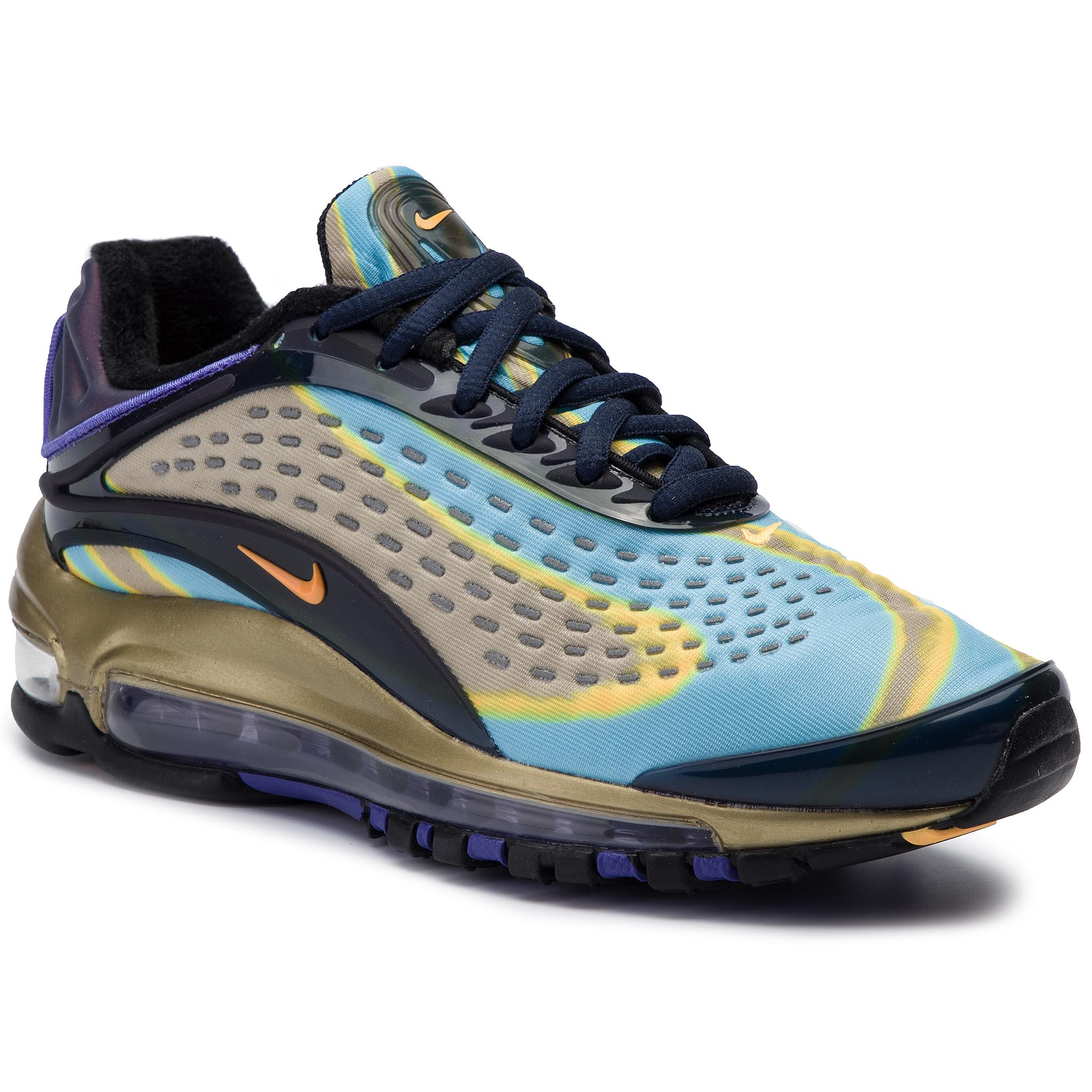 Cipő NIKE Air Max Deluxe AQ1272 400 MIdnight NavyLaser Orange