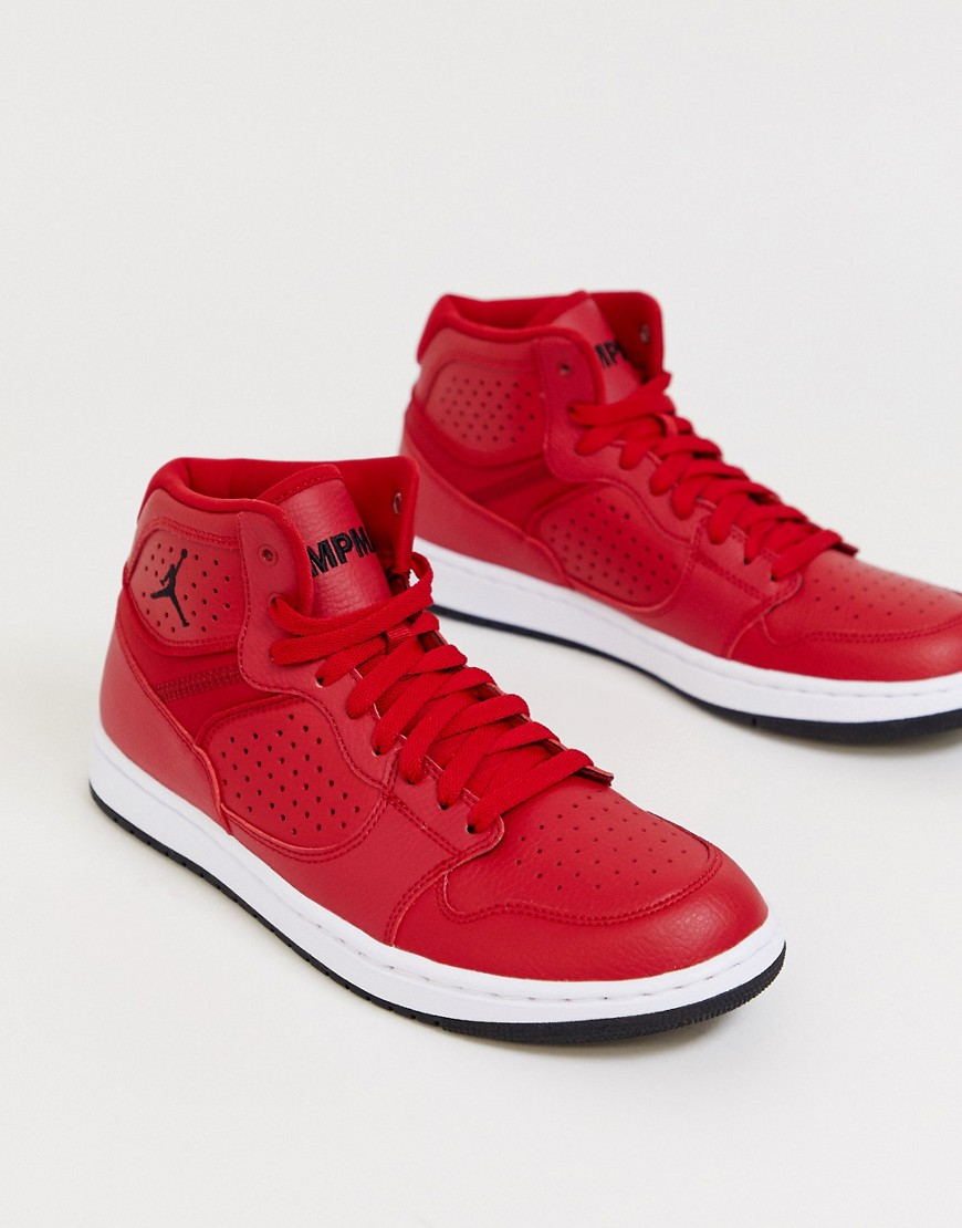 Nike Jordan Access trainers in red Red