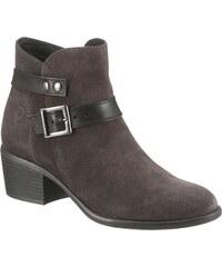 Magasított cipő TAMARIS 1 25100 20 Stone 205 Bokacsizmák