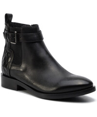 Magasított cipő GEOX D Kaula E D84ANE 08554 C9999 Black