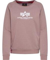 Alpha Industries Tréning Póló 'basic Long Sweater Os Wmn' Fekete