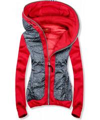 Butikmoda Piros és kék színű pöttyös melegítő szett GLAMI.hu