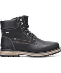Férfi bélelt fűzős cipő RIEKER Tex (35334 01) fekete 41