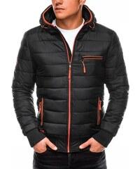 Ombre Clothing Férfi kabát Raylan grafitszürke GLAMI.hu