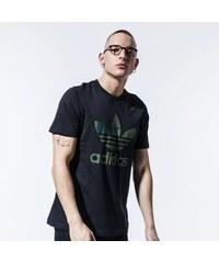 Adidas PERFORMANCE, Emblem mintás póló, Fekete, M