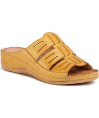 Vietnámi papucsok MELISSA - Odd Ad 32525 Yellow/White 51313 - Vietnámi papucsok - Papucsok és szandálok - Női
