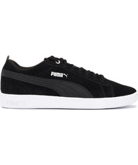 Puma Suede Jr 355110 01 BlackWhite Sportcipő Női Fekete