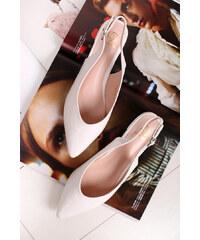 Tamaris Fehér balerina cipő 29402 GLAMI.hu