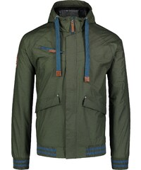 Barna férfi tollas kabát RELY NBWJM6920 | NORDBLANC