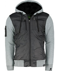 No Fear Classic férfi kapucnis cipzáras kabát GLAMI.hu