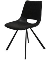 Flacon fekete bükk szék fekete lábakkal Ted Lapidus Maison