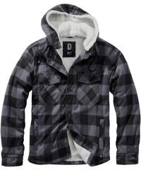 Brandit Lumberjacket dzseki, szürkés fekete GLAMI.hu