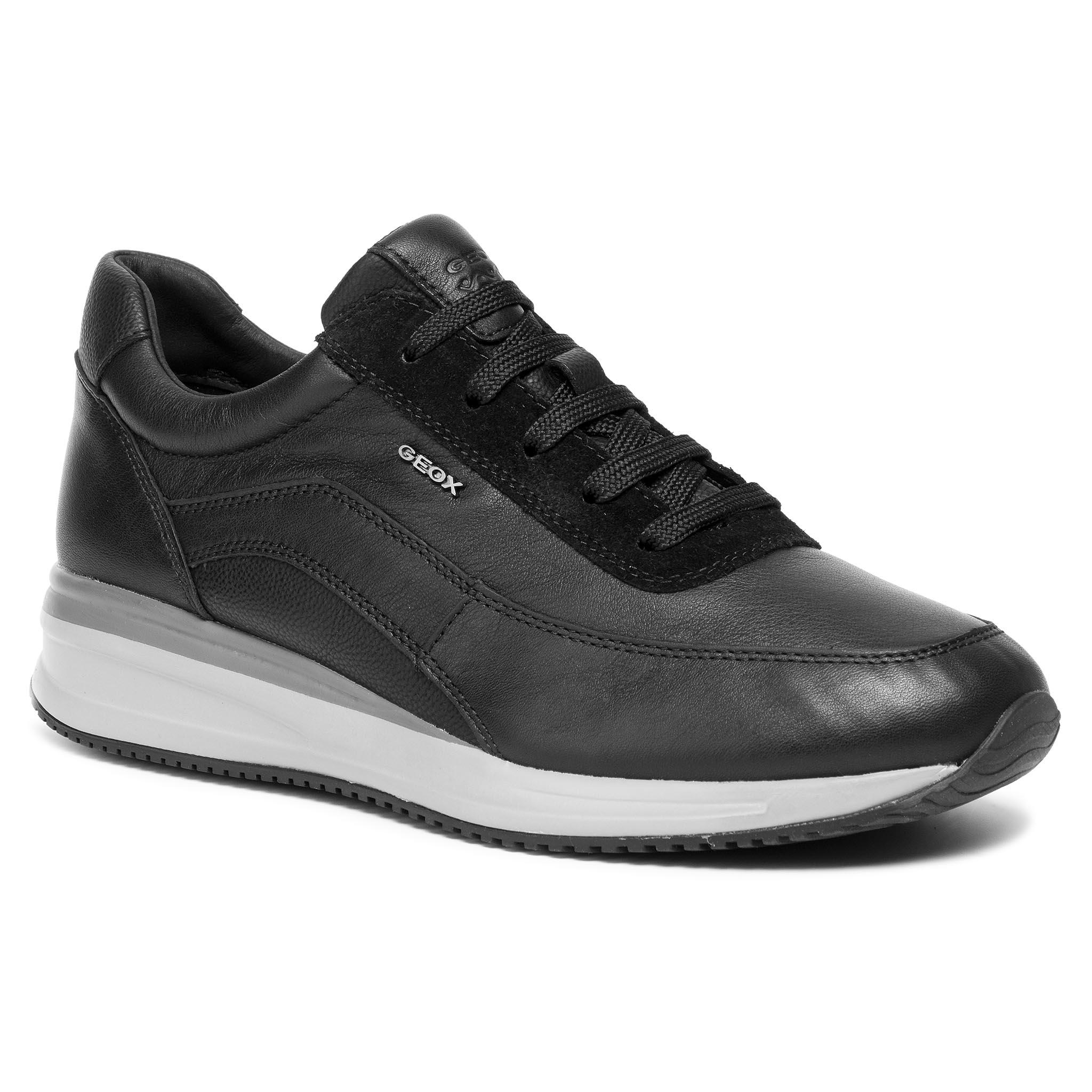 Sportcipő GEOX U Dennie A U920GA 00085 C9999 Black