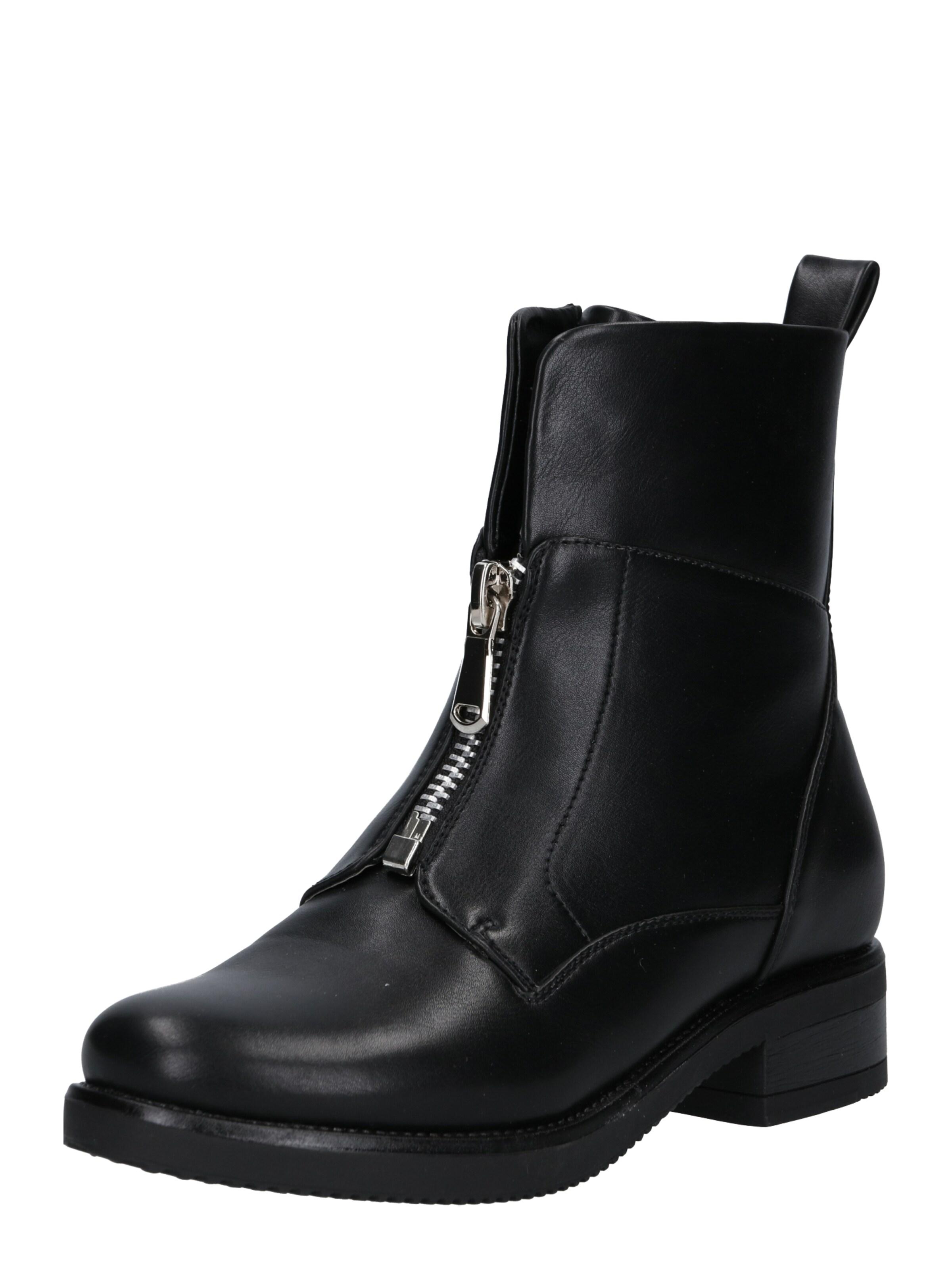 ABOUT YOU Rövid szárú csizmák 'Hailey Shoe' fekete