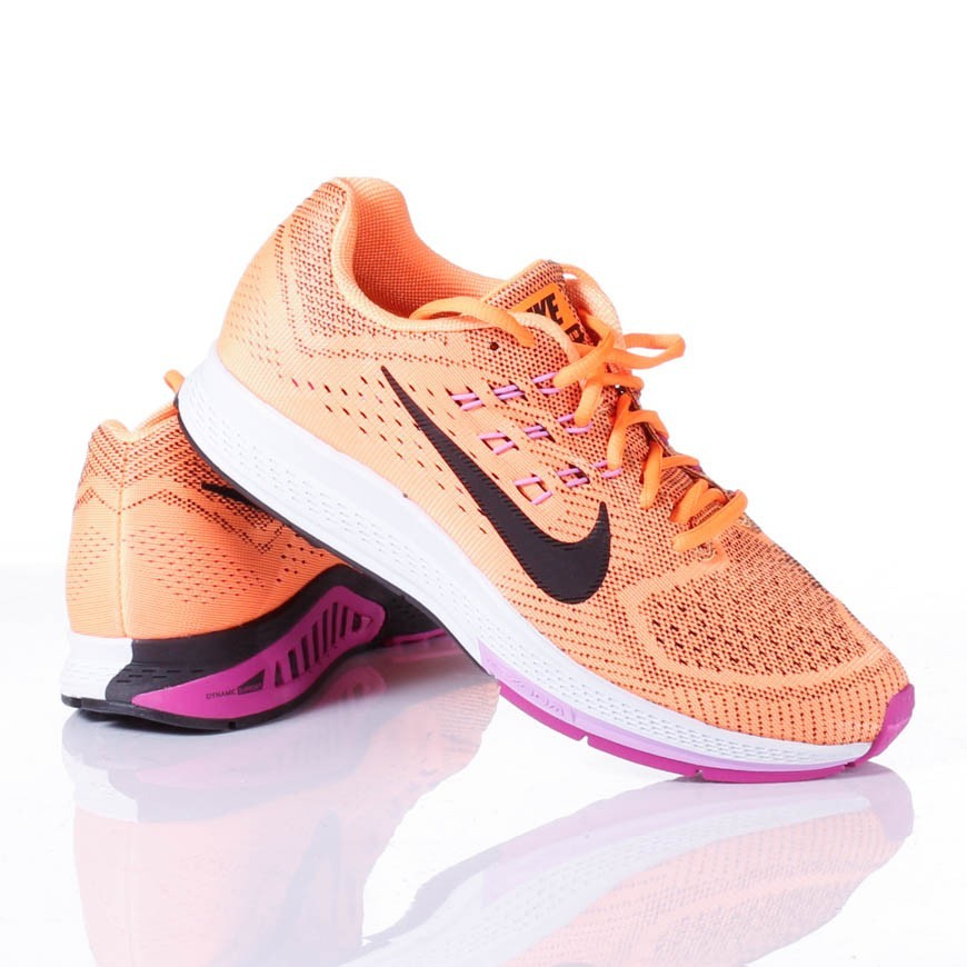 Nike Zoom Structure 18 Cipő Női Rózsaszín Fekete Zöld