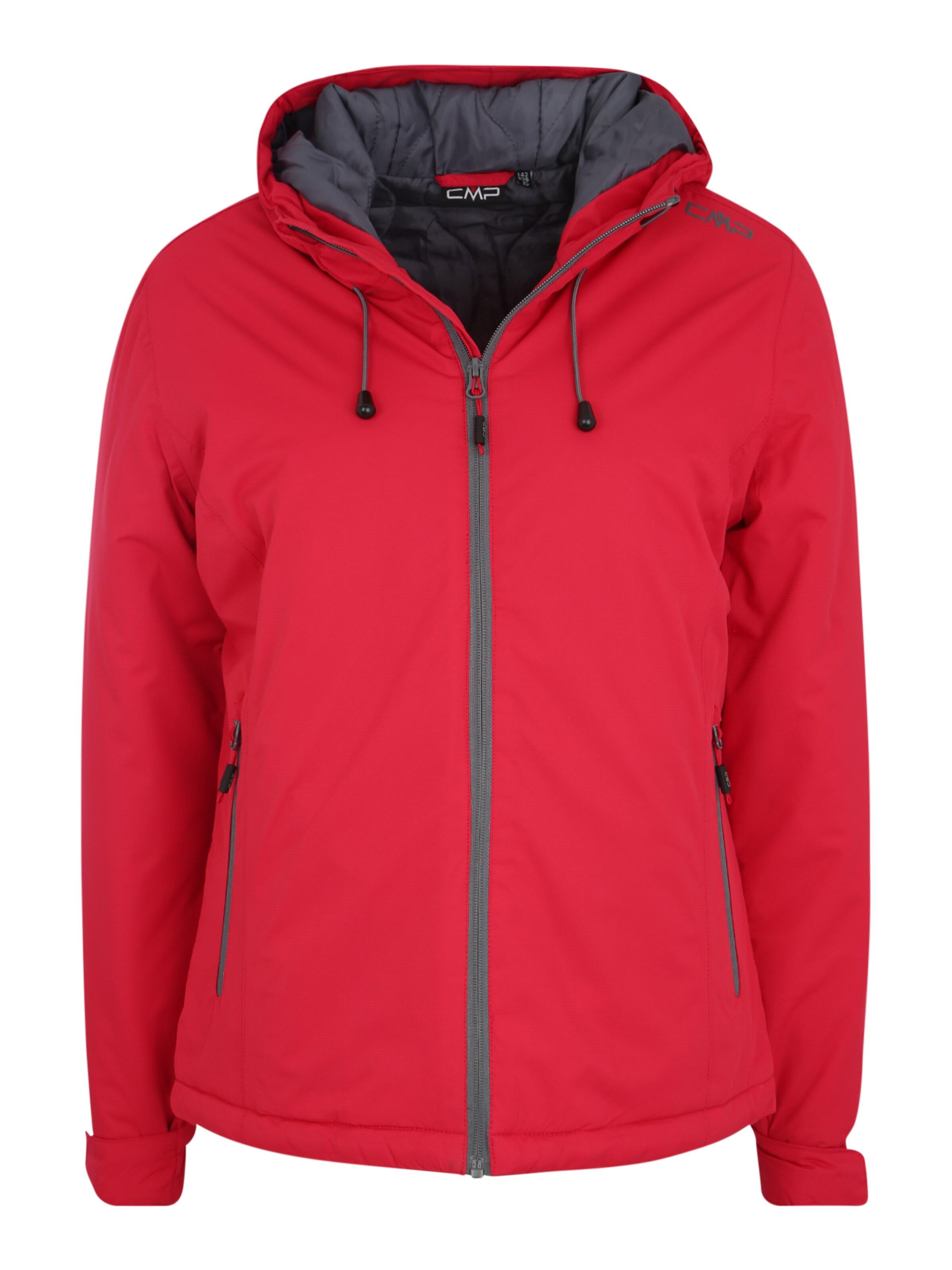 CMP Kültéri kabátok 'FIX HOOD' piros