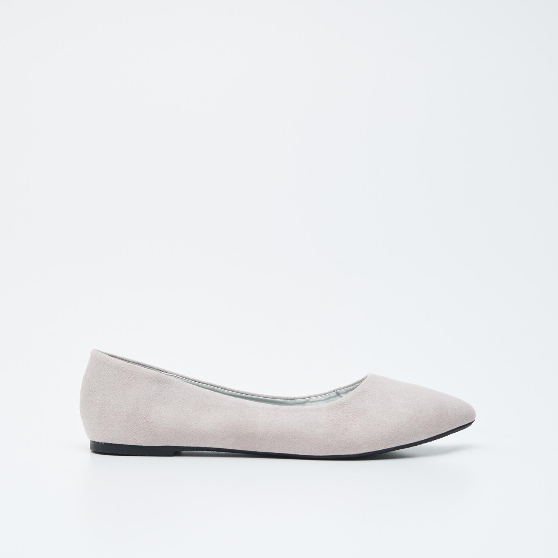 Sinsay Női balerina cipő Világosszürke