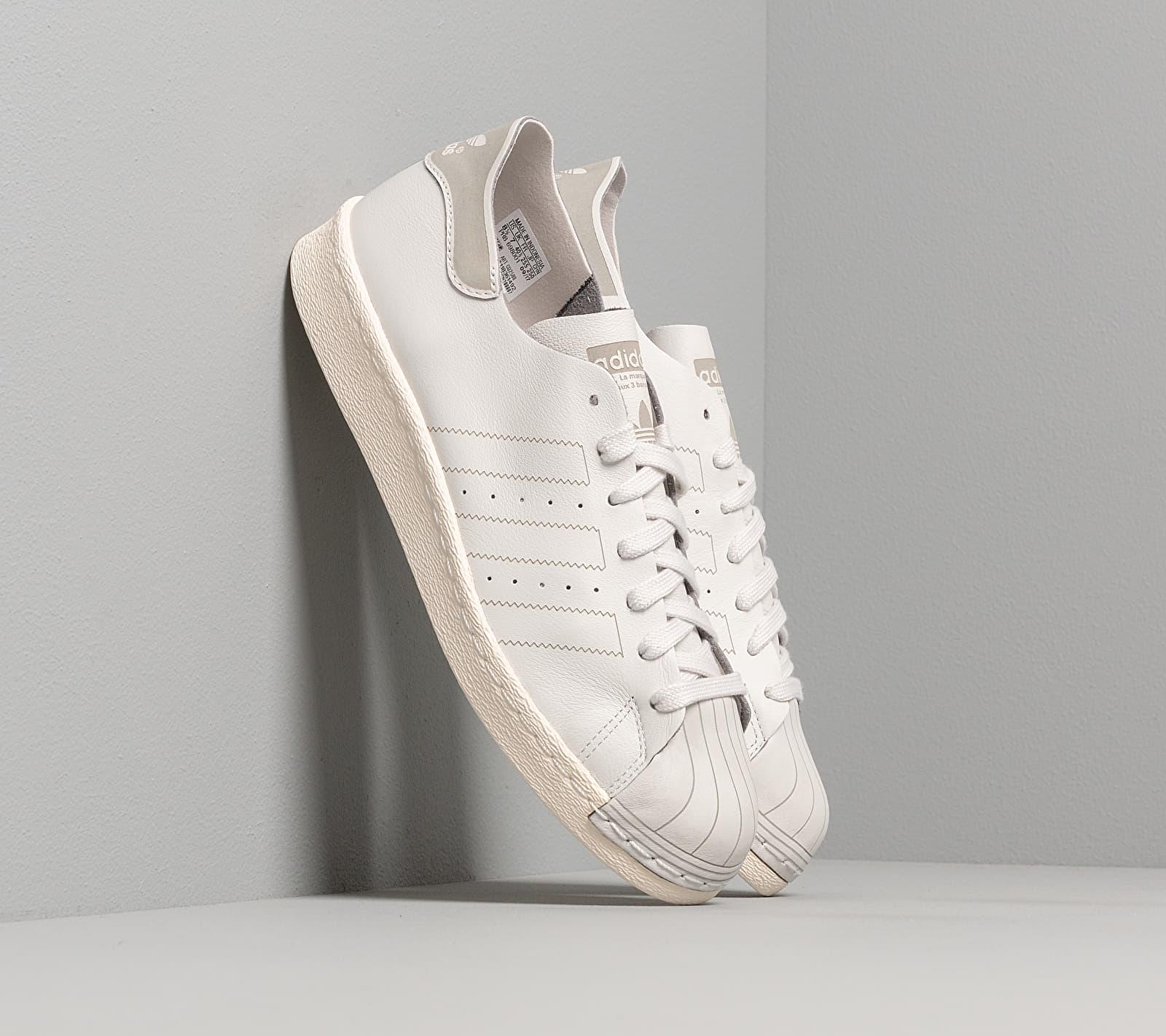 adidas Originals adidas Superstar 80s Decon W Grey One Grey One Off White