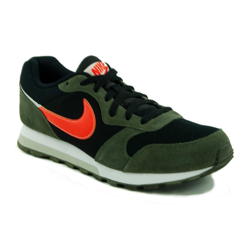 Nike MD Runner 2 Férfi sportcipő, PirosFehér, 44