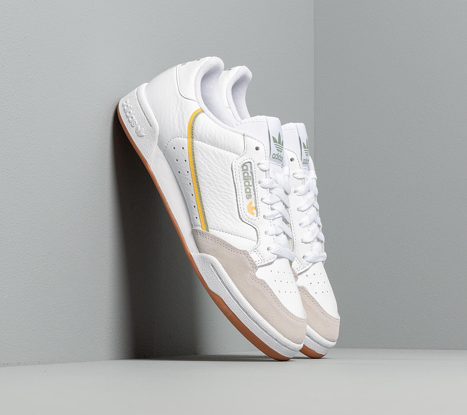 adidas Originals adidas Continental 80 Ftw White Ftw White Crystal White