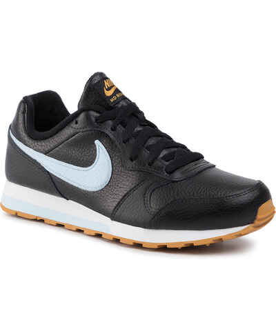 Cipők NIKE Md Runner 2 (GS) 807316 001 BlackWhiteWolf