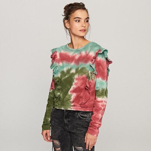 Reserved Tie dye hatású pulcsi Többszínű GLAMI.hu