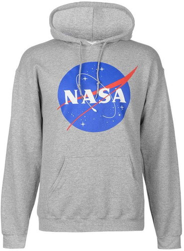 Official Classic NASA Logo férfi kapucnis pulóver
