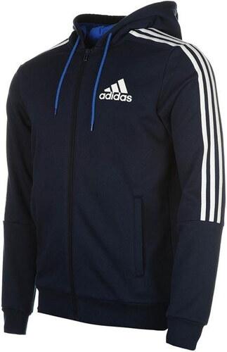 Adidas 3 Stripe férfi kapucnis cipzáras pulóver GLAMI.hu