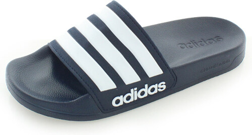 adidas CORE Sötétkék férfi papucs Adilette Shower GLAMI.hu