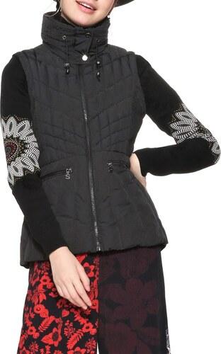 Desigual Chaq Parla női kabát 42 fekete   MALL.HU