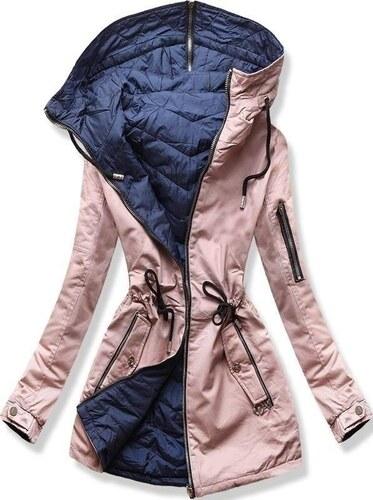 Butikmoda Kifordítható parka kabát rózsaszínű GLAMI.hu