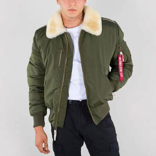 Férfi dzsekik Alpha Industries Flight Jacket Injector III