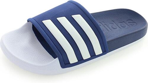 Női Adidas Adilette Slides Papucs Fehér Kék Adidas Adilette