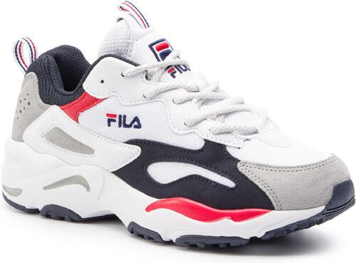 tab022b4 sportcipő fila ray cb low white fila navy fila red