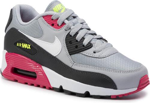 Cipő NIKE Air Max 90 Mesh (Gs) 833418 027 Wolf GreyWhite