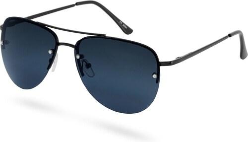 Paul Riley Teljesen fekete keretes pilóta napszemüveg