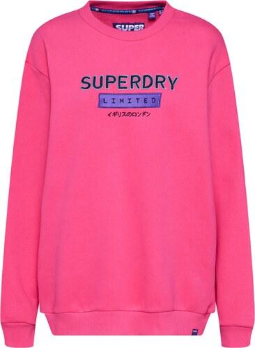 Superdry Tréning Póló Rózsaszín