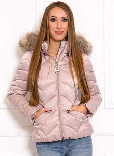 Női téli kabát Due Linee Rózsaszín GLAMI.hu