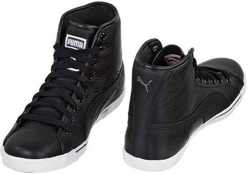 Puma Benecio Mid Leather férfi cipő Fekete GLAMI.hu
