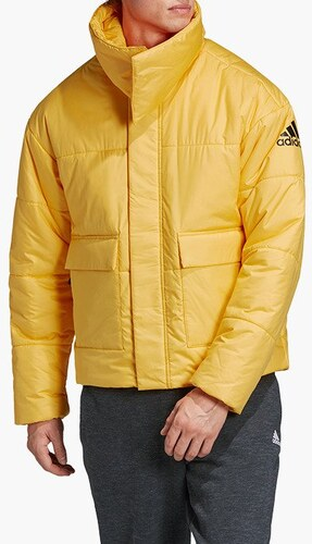 ADIDAS PERFORMANCE Kültéri kabátok 'Big Baffle' Sárga