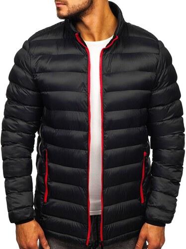 Férfi átmeneti sportos dzseki fekete színben Bolf 5580