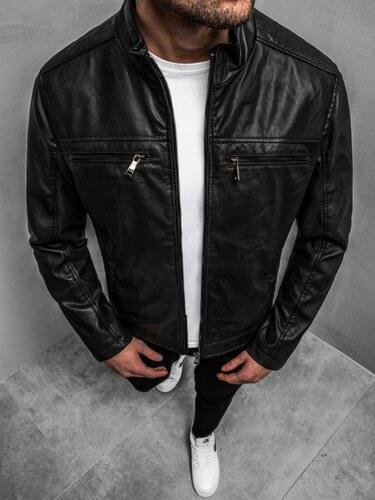 Férfi dzseki Fekete fehér OZONEE O88911 | OZONEE.HU