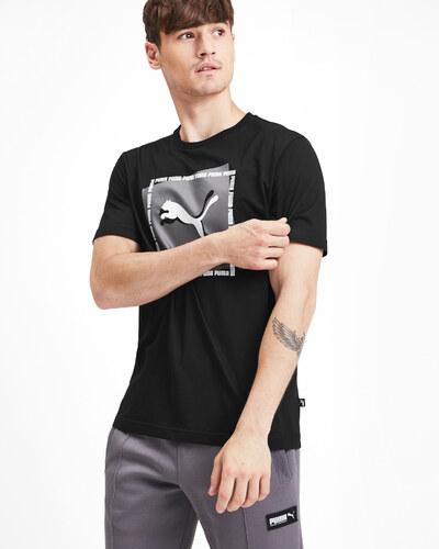 Puma férfi póló fekete színben