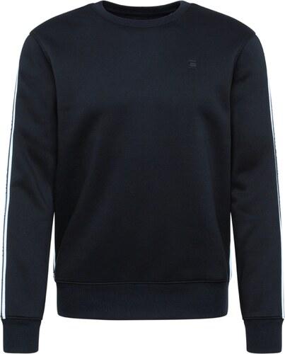 G Star RAW Tréning póló 'Alchesai or core' fekete fehér