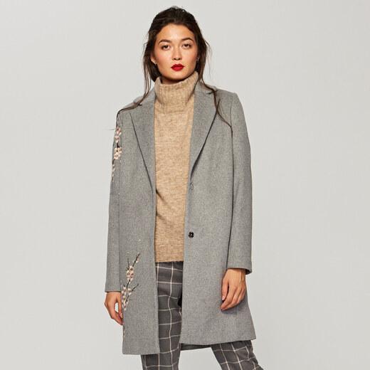 Reserved Egyenes szabású kabát Többszínű GLAMI.hu